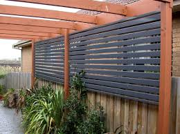 I would love to put in a privacy screen put up on our deck. It's
