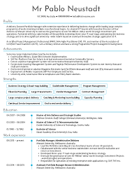Example Of Construction Resume Project Manager Resume Sample Writing Guide Examples