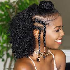 Image Coiffure Cheveux Afro Nattes Coupe De Cheveux Femme