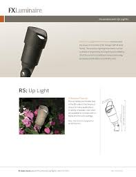 dallas landscape lighting s installs the rs halogen up light by fx