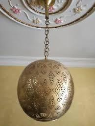Moroccan lighting pendant Moroccan Style Image Is Loading Goldceilinglampantiquebrassmoroccanlamppendant Horiaco Gold Ceiling Lamp Antique Brass Moroccan Lamp Pendant Ceiling Light