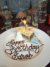 My Husband Booked A Table At Sophias To Celebrate My 30th Birthday