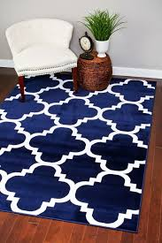 navy blue and white area rugs lovely rug 5 7