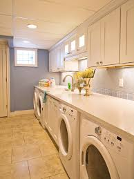 washer dryer built cabinets