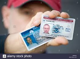 Alamy - Stock Popularly As Employment Document 16745537 Known Ead Us Authorization Card Photo
