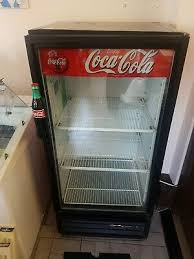 cocacola single glass door display