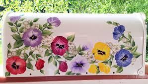 painted mailbox designs. Painted Mailbox Designs