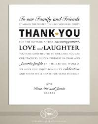 Wedding Thank You Notes Amazing Thank You Notes For Wedding Digital File Personalized