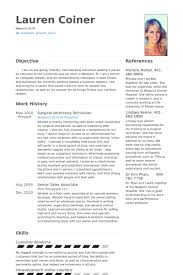 Gallery Of Vet Resume Sample