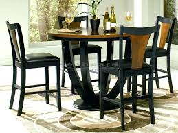 small black bistro table impressive round bistro table and chairs kitchen pub table sets pub tables