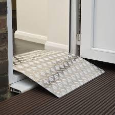 threshold ramps for wheelchairs threshold ramps doorline bridge ramp