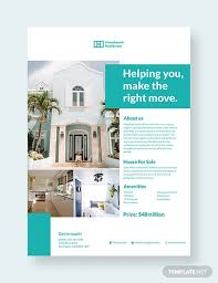 Marketing Flyers Templates 40 Real Estate Flyer Templates Ai Word Psd Eps Vector