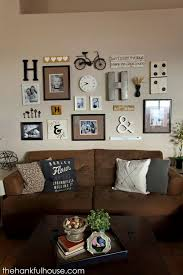 living room wall decorating ideas. i thought i\u0027d finally share my gallery wall with you all. we did this back in october\u2026 yes 4 months ago. have been dying to it off and \u2026 living room decorating ideas