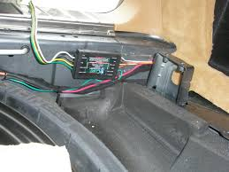 experiences on installing cayenne trailer wiring rennlist how to install a wiring harness for a trailer hitch at Installing A Wiring Harness For A Trailer