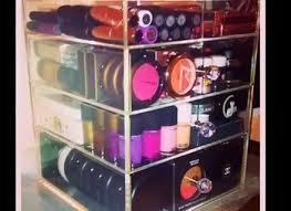 best acrylic makeup organizer zahrabox es with crystal