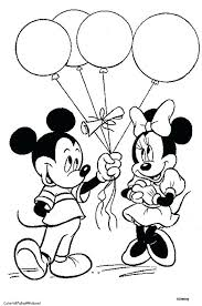 Mini Mouse Coloring Page