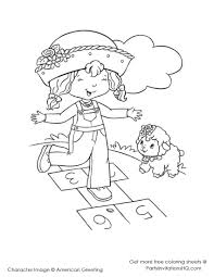 Strawberry Shortcake Birthday Coloring Pages - GetColoringPages.com