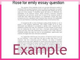 rose for emily essay question research paper writing service rose for emily essay question examples of william faulkner essay topics questions and thesis