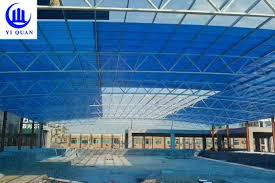 polycarbonate translucent plastic corrugated roof panels for swimming pool