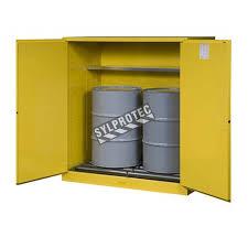 justrite flammable liquid storage cabinet capacity 110 gallons