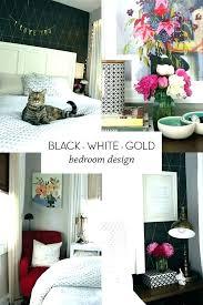 Black And Gold Bedroom Ideas Grey White Decor – savva