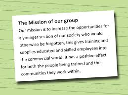 how to write a nonprofit governing board statement vripmaster for example if your organization helps poor people tell the reader how it does this an organization help poor people by providing