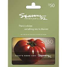 Receive up to 4.00% cash back on seasons 52 gift cards from mygiftcardsplus. Amazon Com Seasons 52 50 Gift Card Gift Cards