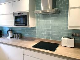 wavy glass tile backsplash kitchen beautiful cheap kitchen
