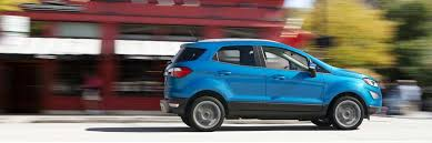 2018 ford suv. beautiful ford 2018 ford ecosport se in race red cruising city street inside ford suv