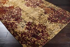 surya wool area rugs brocade tan burdy area rug 6 9 area rugs target
