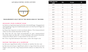 Azarai Jewelers How To Find Your Ring Size Nigeria