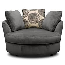 Swivel Living Room Chairs Contemporary Round Swivel Chairs For Living Room