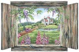 princess castle wall art on castle wall art mural with princess castle wall decal princess wall decal princess castle