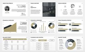 finance report templates the best annual report presentation templates to admire your boss