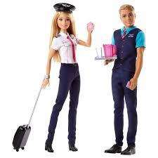 Набор кукол Барби и Кен пилоты Barbie Pink Passport ... - ROZETKA
