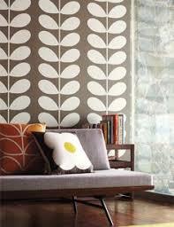 living room orla kiely multi: orla keily classic stem wallpaper http wwwtangletree interiorsco