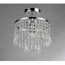 flush mount mini crystal chandeliers chandelier designs