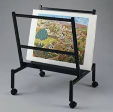 Artists Display Stands Poster Displays Poster Holders Art Display Stands TRIO Display 2