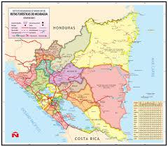 map of nicaragua — austin samaritans