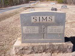 "Ferdinand A. ""Ferrie"" Sims (1867-1935) - Find A Grave Memorial"