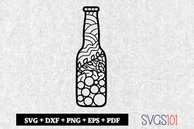 Download 369 free beer icons in ios, windows, material and other design styles. Beer Bottle Paper Cutting File Graphic By Svgs101 Creative Fabrica