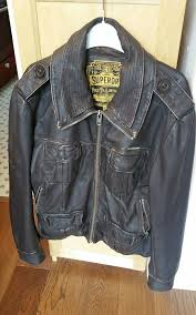 superdry brown leather jacket brad large mens superdry limited brown superdry coats superdry high tops reliable quality