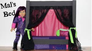 american girl doll disney descendants mal bed