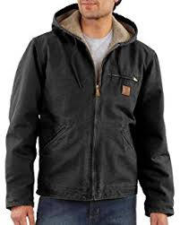 Carhartt Coat Size Chart Amazon Com Carhartt Mens Bartlett Jacket Regular And Big