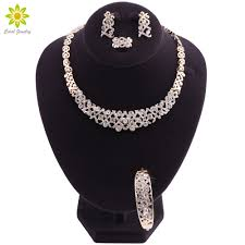 American Indian Necklace Designs Fashion African Beads Necklace Set Trendy Wedding Dubai