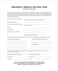 Printable Medical Permission Forms Vuthanews Magnificent Printable Medical Release Form For Children