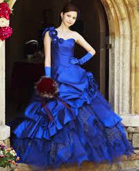 navy blue bridal gown wedding dress fantasy