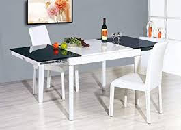 Expandable Glass Dining Room Tables Interior New Ideas