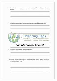 Survey Formats Templates Lovely Template For Survey Questionnaire