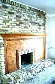 fireplace cleaner best way to clean brick how cleaning log home depot